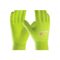 Maxiflex Ultimate Hi-Vis Nitrile Coated Yellow Gloves
